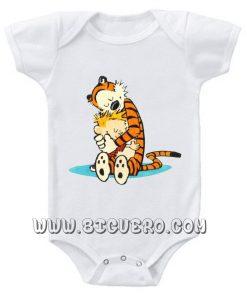 The Very Best Calvin and Hobbes Baby Onesie