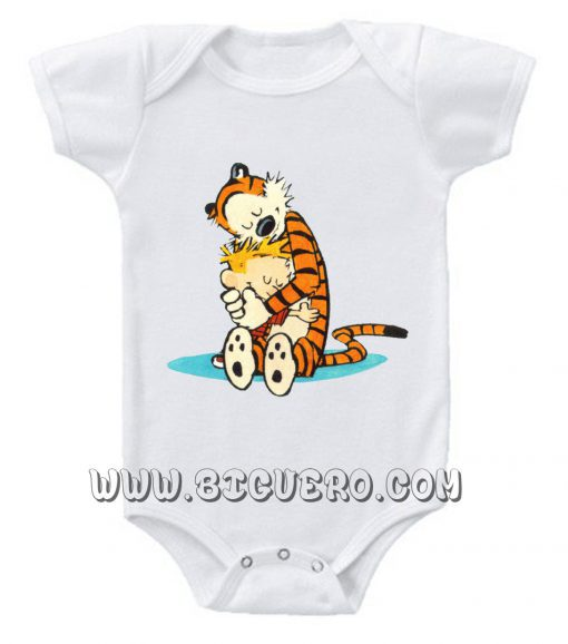 The Very Best Calvin and Hobbes Baby Onesie