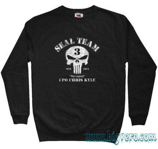 US Sniper Chris Kyle American Legend Sweatshirt Size S-XXL