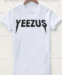 Yeezus tshirt Kanye West Rock Tour T Shirt