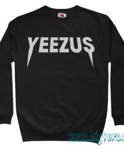 Yeezus Kanye West Rock Tour Sweatshirt Size S-XXL