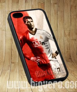 Cistiano Ronaldo MU and Real Madrid Cases iPhone, iPod, Samsung Galaxy