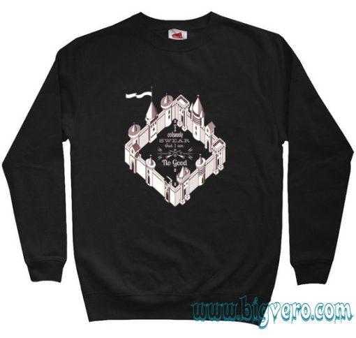 marauders map Harry Potter Sweatshirt Size S-XXL