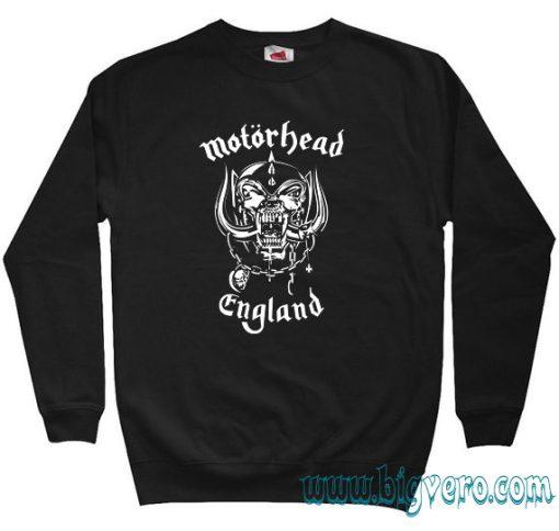 Motorhead England Symbol Sweatshirt