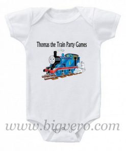 Thomas The Train Birthday Party Baby Onesie