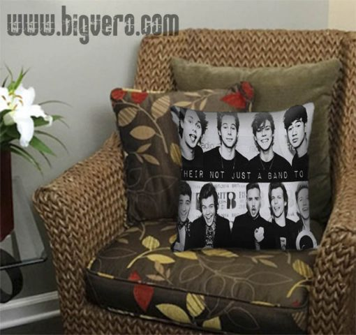 5 Seconds of Summer and One Direction Pillow Cover