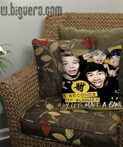 5SOS 5 Second Of Summer Band Pillow Cover