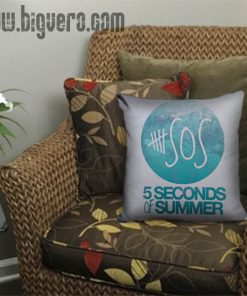 5Sos Logo Pillow Cover