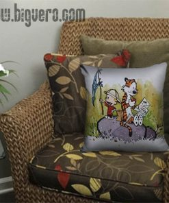 Adventure Calvin And Hobbes Pillow Cover