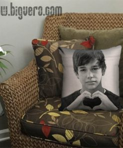 Austin Mahone Love Heart Beautiful Pillow Cover