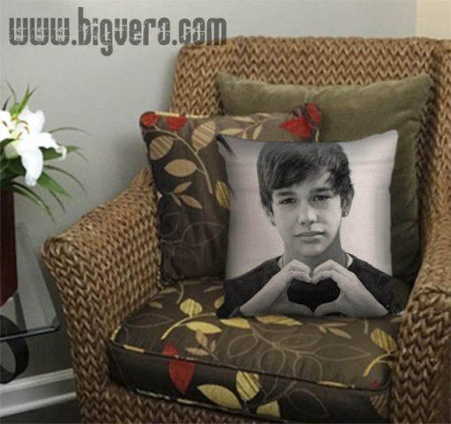 Austin Mahone Love Heart Beautiful Pillow Cover
