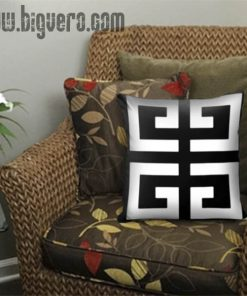 Black Giv Pillow Cover