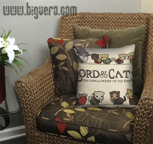 The Lord of the Cats Pillow Cover