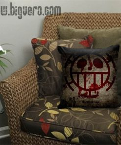 Trafalgar Law Flag One Piece Pillow Cover