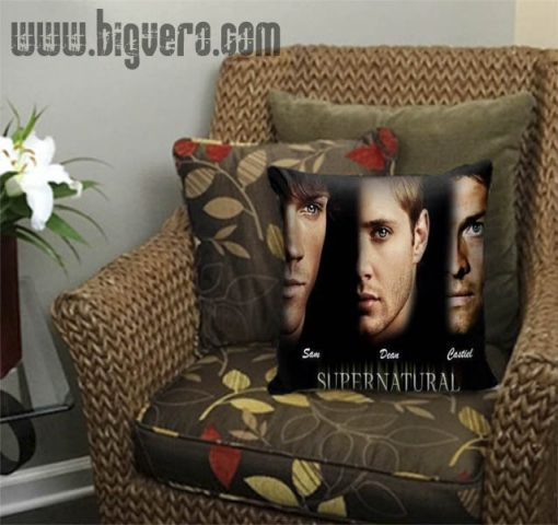 Unique Supernatural Pillow Cover
