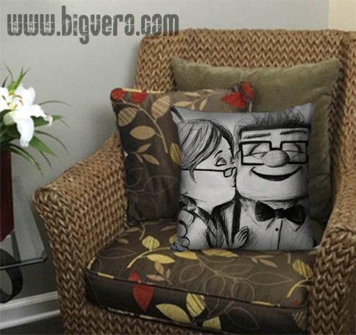 Disney Pixar Carl and Ellie Pillow Cover