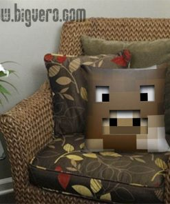Zombie Pig Creeper Pillow Cover