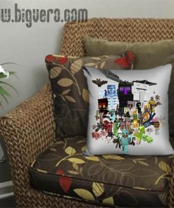 All Character Minecraft Pillow Cover