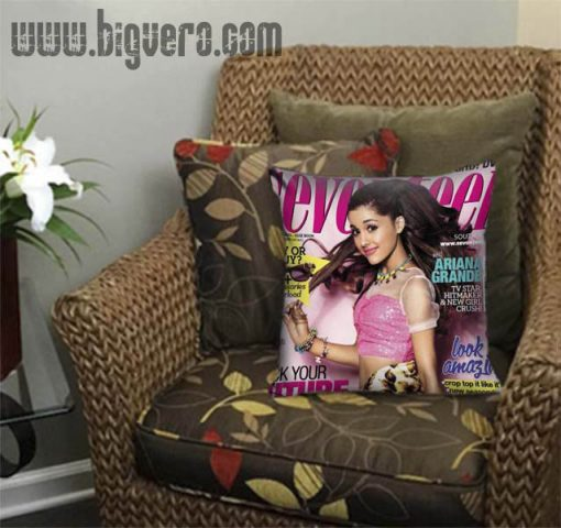 Ariana Grande Cover Derocative Pillow Cover