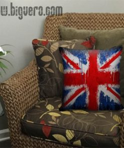 British Pillow Cover