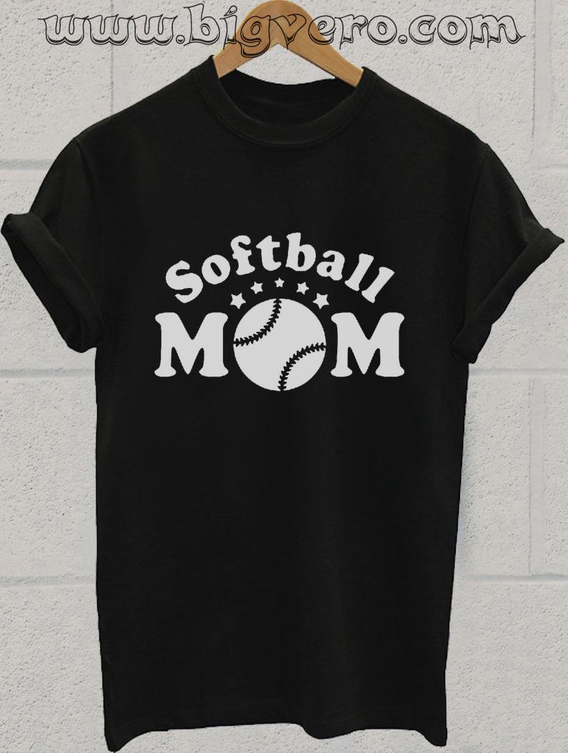 Softball Mom T Shirt Cool Tshirt Designs Bigvero Com