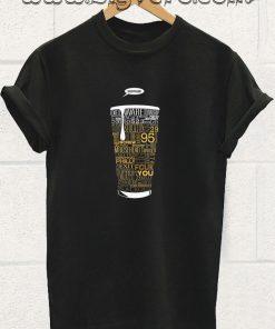 Typographic Beer T Shirt