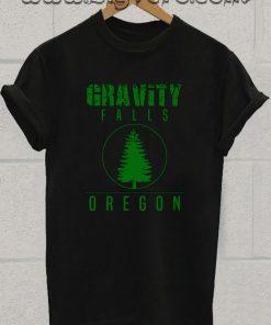 Gravity Falls Oregon Pine Tshirt
