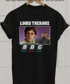 Louis Theroux BBC 90s Print T-Shirt