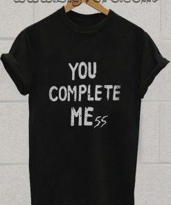 Luke Hemmings You Complete Mess Tshirt