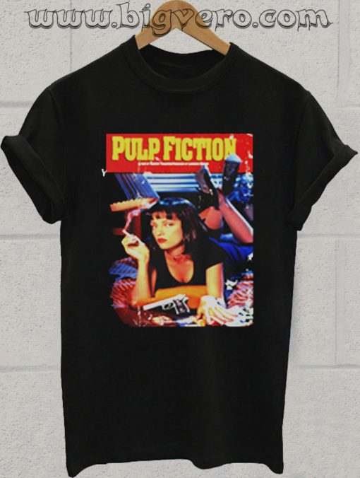 Pulp Fiction Poster Tshirt