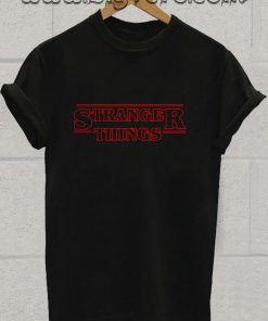 Stranger Things Logo Tshirt