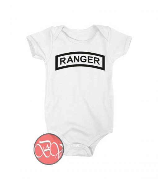 Army Ranger Baby Onesie