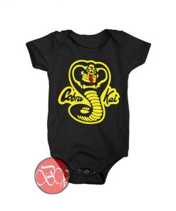 Cobra Kai Expect No Mercy Baby Onesie