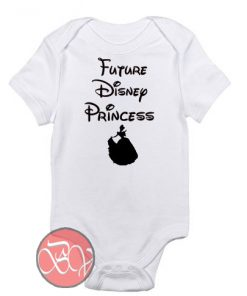 Future Disney Princess Baby Onesie