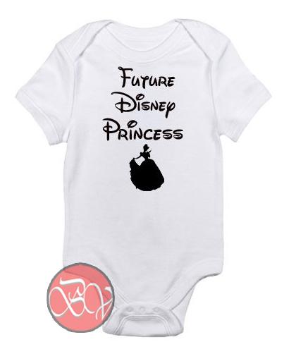 788c5ca33 Future Disney Princess Baby Onesie | Cool Baby Onesie Designs ...