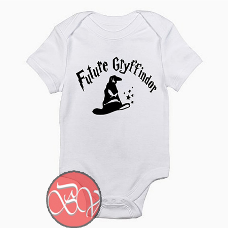 Future Gryffindor ,Harry Potter Gryffindor Baby Onesie
