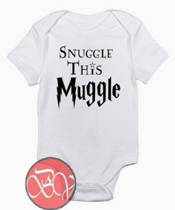 Harry Potter Snuggle This Muggle Baby Onesie