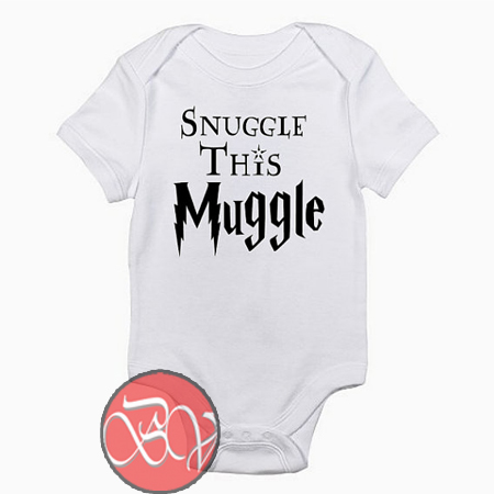 Snuggle This Muggle Harry Potter Inspired Infant Baby Onesie