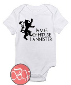House Of Lannister Baby Onesie