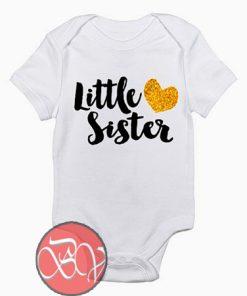 Little Sister Baby Onesie