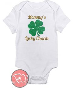 Mommy's Lucky Charm - St. Patrick Day Baby Onesie