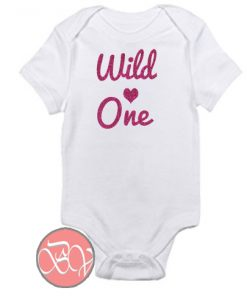 Wild One Baby Onesie