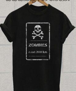 zombie halloween costume horror Tshirt