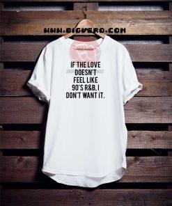 90's R&B Style Tshirt