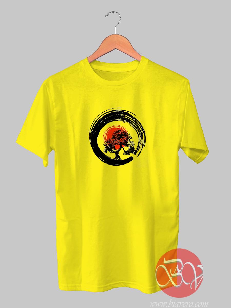 Bonsai Tree Japanese Tshirt Cool Tshirt Designs - Bigvero.com
