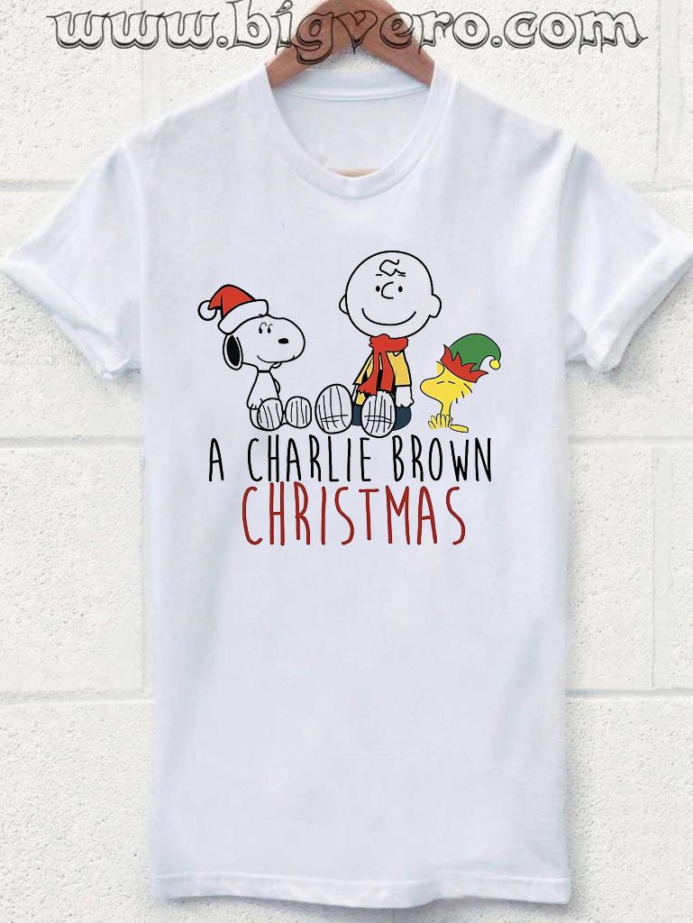 charlie brown christmas tshirt