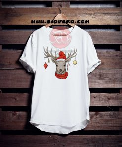 Christmas Deer Tshirt