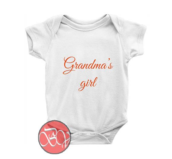 2ded28e6d36b3 Custom Grandma's Girl Baby Onesie