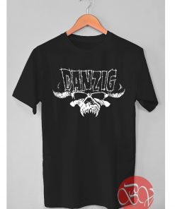 Danzig Skull Logo Tshirt
