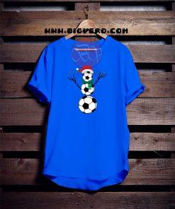 Funny Snow Soccer Tshirt
